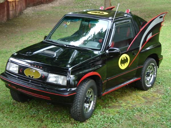 best of craigslist 1991 geo tracker batmobile. Black Bedroom Furniture Sets. Home Design Ideas