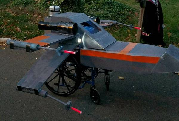 Best Of Craigslist Free Homemade X Wing Fighter Shell For Wheelchair