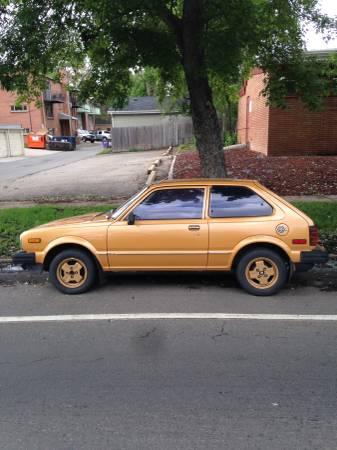Best Of Craigslist Gold 1981 Honda Civic 1300