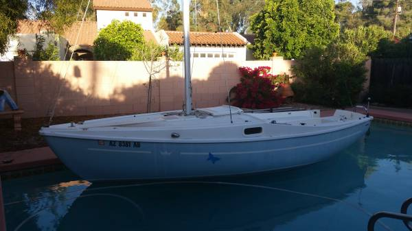 best of craigslist: Free 18' Sailboat