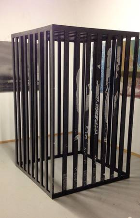 best of craigslist: Human Sized Steel Cage