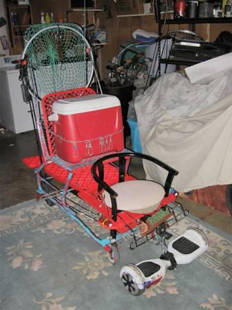 best of craigslist: Hoverboard Kart
