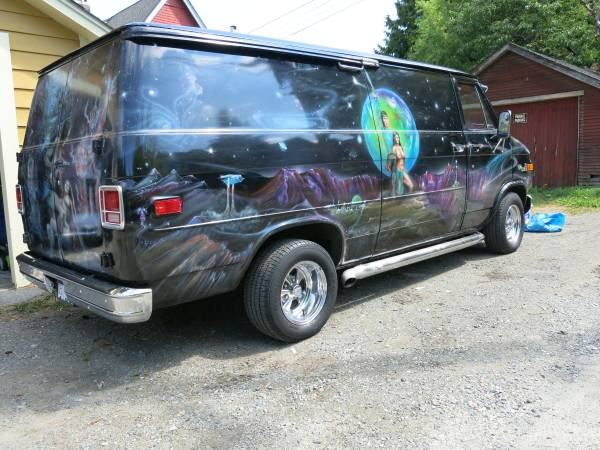 1980 custom vans for sale